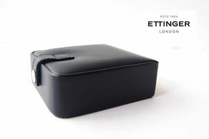 エッティンガー|ETTINGER|レザー小物ケース|アクセサリーケース|ネイビー