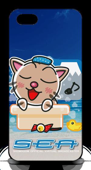 <iPhoneケースiPhone 5 / 5s / SE - 正>お風呂みーちゃん