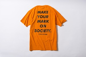 MAKE YOUR MARK TEE (ORANGE)
