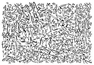 アルファベットデザイン(黒) (ot_0001)