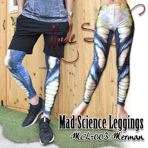 MDL-003 Mad Science Leggings<半魚人/Merman>