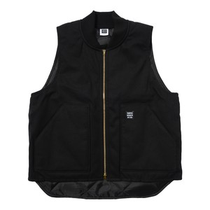WORK VEST(BLACK)[TH8A-064]
