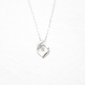 Swing Diamond Neckkace 0.01ct | K18WG