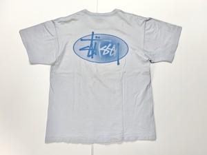 90s STUSSY オールドステューシー USA製 紺タグ Tシャツ L