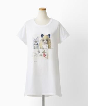 QXQX Tシャツ(巾着ケース付)きみとぼく[1000109684]