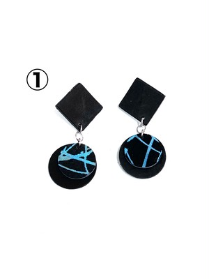 EAR accessory《début》square
