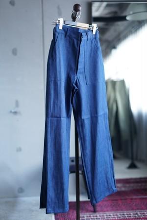 HYKE / DENIM BAKER PANTS  ( ORIGINAL/BLUE )
