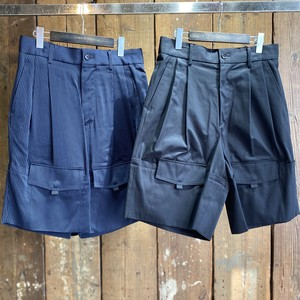 YUKI HASHIMOTO / ROLL-UP POCKETS SHORTS