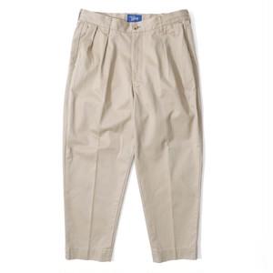 WEST POINT WIDE TAPERD PANTS【BEIGE】