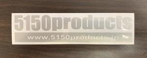 5150products カッティングステッカーS 2枚セット