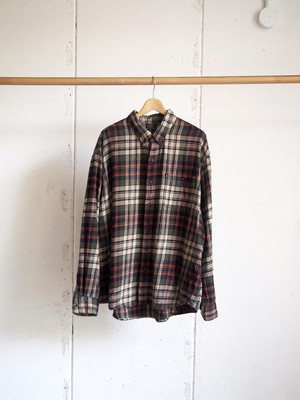 USED / G.H.BASS&CO., Flannel check shirts