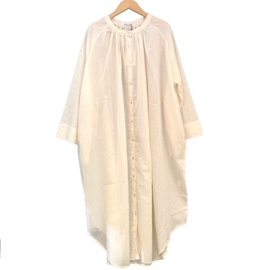 Lilou&Lily : 80LAWN SHIRTS ONE-PIECE DRESS   Color : Off White