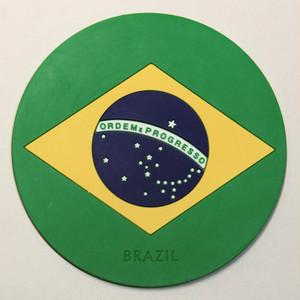 【国旗コースター】 ブラジル