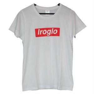 IROGLO(イログロ)×N°D(ナンバーディー)BOX LOGO/Tシャツ/ホワイト
