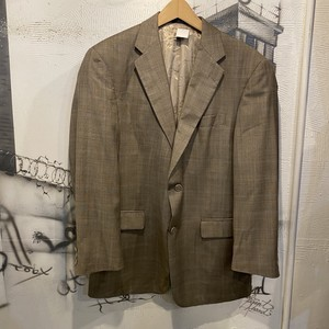 check tailored jacket