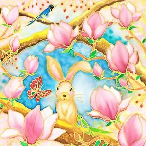 原画  Spring has come.