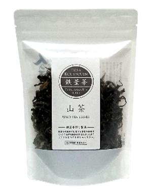 鉄釜茶 山茶【茶葉・60グラム】