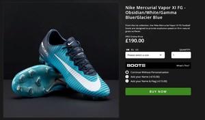 Nike Mercurial Vapor XI FG - Obsidian/White/Gamma Blue/Glacier Blue