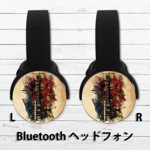 #000-235 Bluetoothヘッドホン おすすめ おしゃれ メンズ ロック クール タイトル:ロックンロール