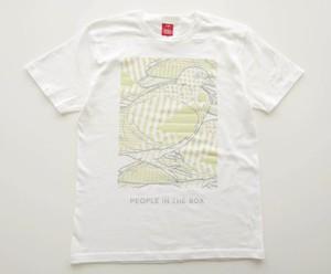 鳩 B Tシャツ (designed by WOK22)