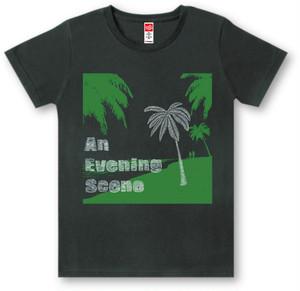 #418 TシャツEVENING/BLK