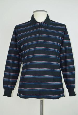 LeCENT【日本製】 メンズ 長袖ポロシャツ 39270 (M~Lサイズ)
