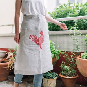 Half apron rooster ハーフエプロン ルースター