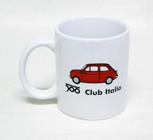 FIAT 500 CLUB ITALIA マグカップ
