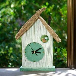 【送料無料】とりっこハウス壁掛け時計、置き時計-6