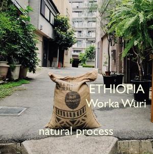 ETHIOPIA【natural】-中深煎- 100g