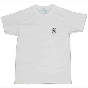 [T Shirt] HIBRID ENT. ONE POINT LOGO T Shirt (WHITE)