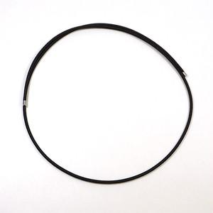 パーツ 磁気コードネックレス 60㎝ 黒