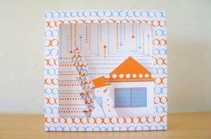 WHITE SNOW BOX ・レトロポップカラー