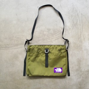 THE NORTH FACE PUROLE LABEL Small Shoulder Bag OLIVE