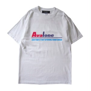 AVALONE AW17 ANOTHER STORY A.D2048 SHORT SLEEVE TEE / WHITE