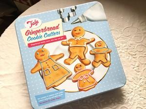 イギリスTALA社ジンジャーブレッドクッキーカッターセット