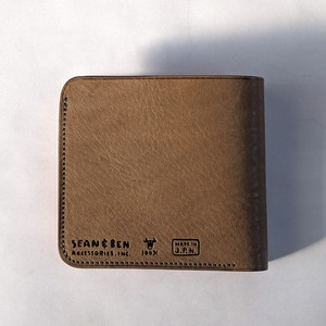 Billfold with KangarooCoin  -GRAY×RED-