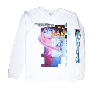 "Vision of Fatima X DON't ASK - "" Image "" LONG SLEEVE TEE"