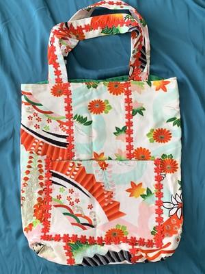 Japanesqueトートバッグ 秋菊