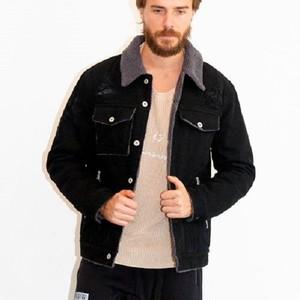 VIRGOwearworks / ヴァルゴ |【SALE!!!】BOA DENIM JKT VG / ボアデニムランチジャケット - Black