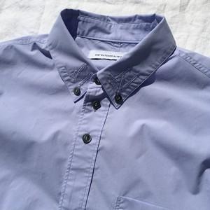 DIET BUTCHER SLIM SKIN ダイエットブッチャースリムスキン / button down shirt SAX