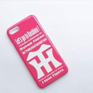 Let's go to Koshien!color case ピンク