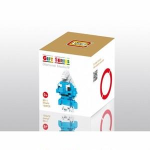 LOZ 9311 ダイヤモンドブロックス スマーフ / Diamond blocks Smurfs 1個/120pcs