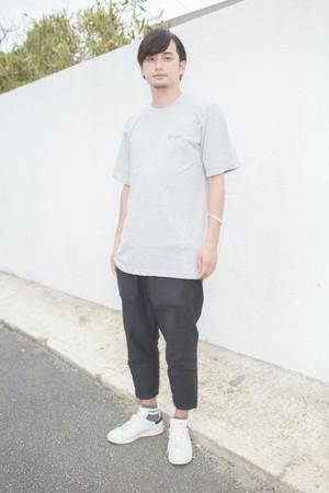 【3日間限定】平成ゆとりTシャツ グレー