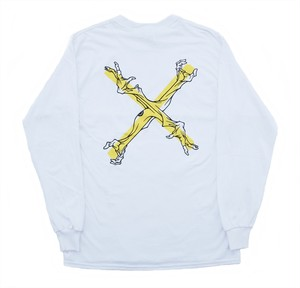 BATSU KC LONGSLEEVE ARTWORK TOKOYA WHITE