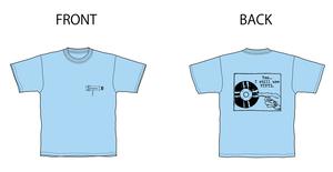 アナログマンTシャツ 2019 ライトブルー