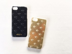 Medelu cow leather star iphone case/レザーiphone8ケース