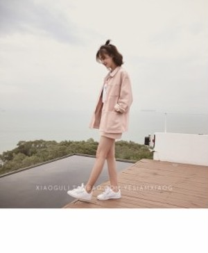 セットアップ ジャケット スカート ミニ丈スカート ハイウエスト カジュアル オーバーサイズ 台形スカート プチプラ