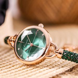 人気爆発中 ラインストーン 合わせやすい おしゃれ 5色 レディース 腕時計 <ins-2041>