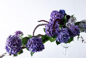 ポストカード 紫陽花1 10枚セット TYPE-20-F-10